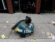 New York Governor and Mayor Tour Explosion Site in New York
