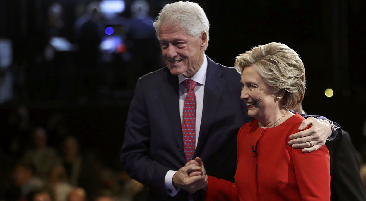 Bill Clinton and His Sexual Indiscretions Reemerge as Campaign Issue