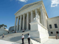 File photo of the U.S. Supreme Court is seen in Washington