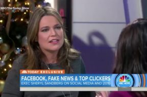 Facebook's Sandberg: Fake News Didn't Sway the Election