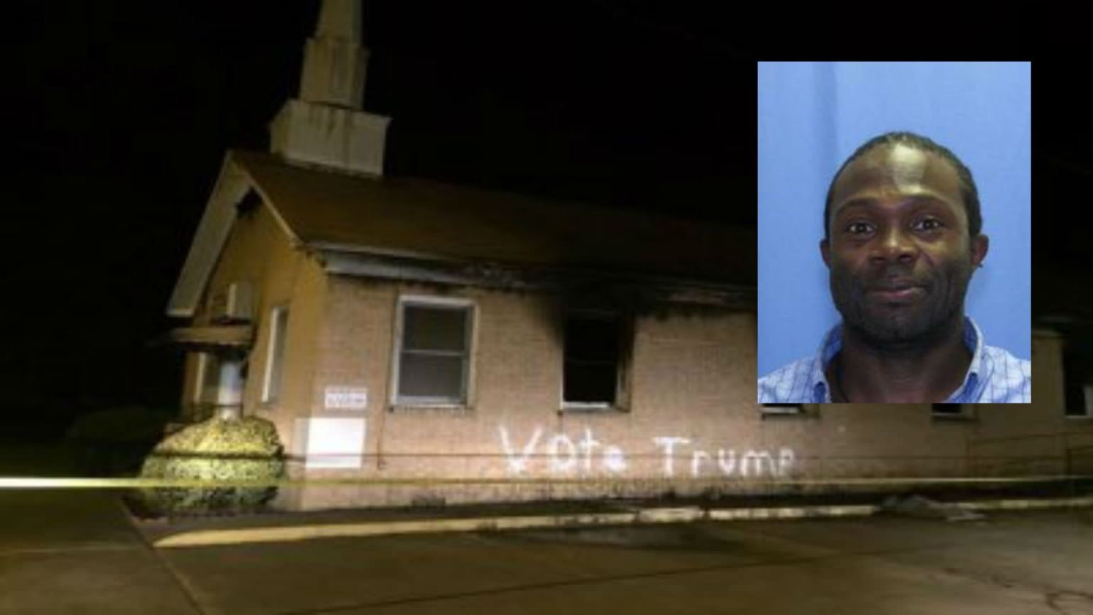Surprising Arrest Made in Mississippi Church Burning