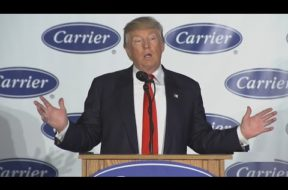 Trump and Pence Make Carrier Jobs Announcement