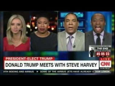 """Marc Lamont Hill: """"Mediocre Negroes Being Dragged In Front Of TV As Photo-Op For Trump"""""""