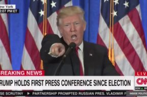 'You Are Fake News!': Trump and CNN's Jim Acosta Get Into Shouting Match at Press Conference