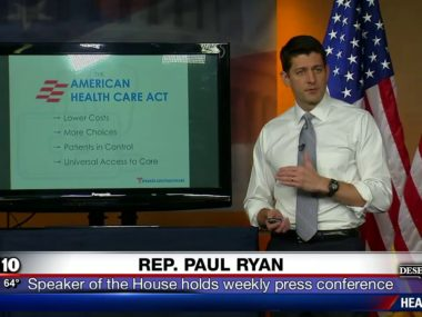 """Paul Ryan PowerPoint Presentation: """"This Is The Closest We Will Ever Get"""" To Obamacare Repeal"""