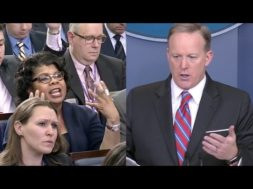 Sean Spicer Confronts Reporter 'Quit Shaking Your Head'