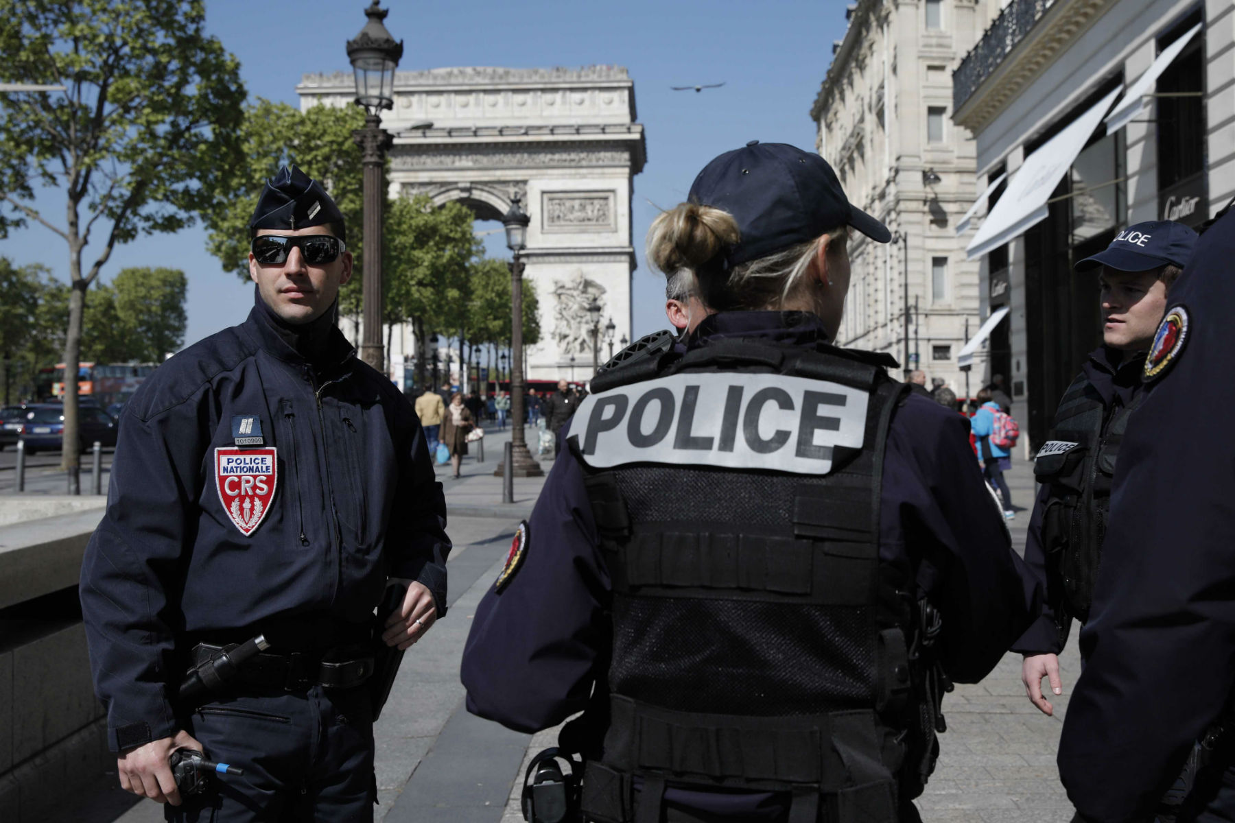 Paris Hit With Terror Attack Ahead Of Presidential Election
