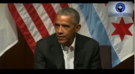 President Obama Makes His First Public Speech Since Leaving Office