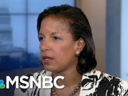 Susan Rice: 'I Leaked Nothing To Nobody' About Intelligence