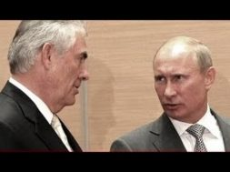 Vladimir Putin & Rex Tillerson Hold Joint Press Conference