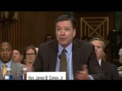 """Comey """"Mildly Nauseous"""" To Think FBI May Have Affected Election"""