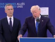 Donald Trump Addresses NATO