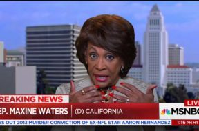 Maxine Waters: I Don't Support Trump Firing Comey, I Would Support Hillary Clinton Firing Comey