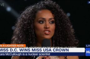 Miss USA Calls Health Care A Privilege Not A Right