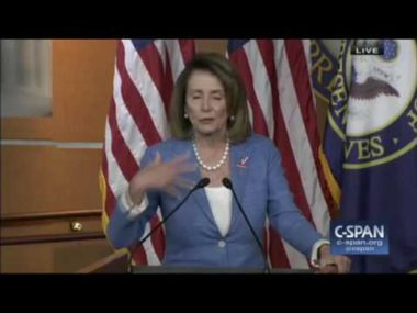 """Pelosi: I Am """"Master Legislator,"""" """"Astute Leader""""; """"Decision How Long I Stay Is Not Up To Them"""""""