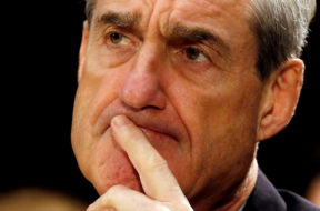 FILE PHOTO – Robert Mueller at the U.S. Senate Judiciary Committee hearing on Capitol Hill in Washington