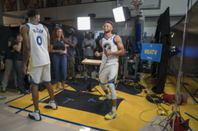 NBA: Golden State Warriors-Media Day