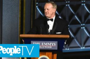 Sean Spicer Appears At The Emmy's