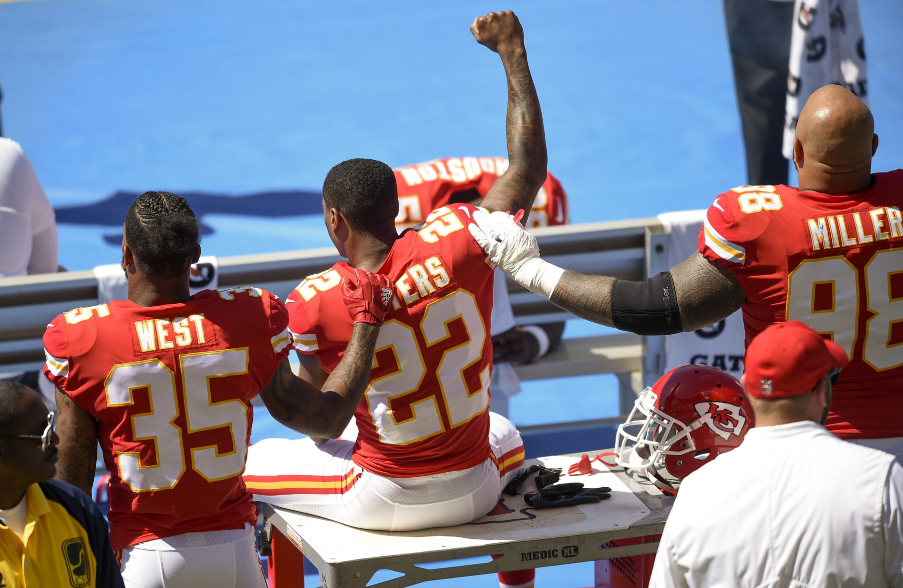 NFL Great Burgess Owens Takes On The National Anthem Protesters