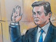 Former Trump 2016 campaign chairman Manafort appears in the  U.S. Federal Court