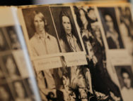 A photograph of Beverly Young Nelson in her high school yearbook is shown after making a statement claiming that Alabama senate candidate Roy Moore sexually harassed her when she was 16, in New York